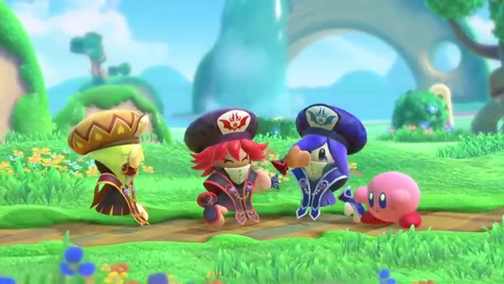 bande annonce kirby star allies les trois s urs de la prochaine mise jour. Black Bedroom Furniture Sets. Home Design Ideas