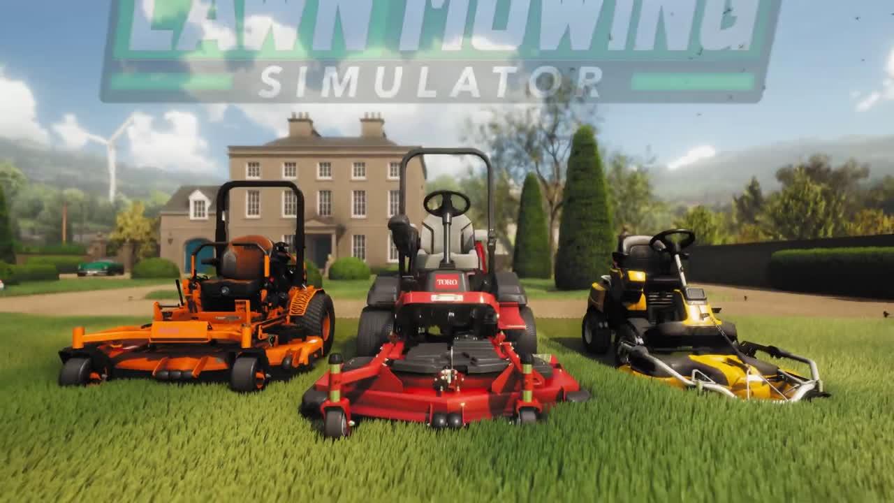 Lawn Mowing Simulator : le jeu de simulation de tonte de pelouse arrivera au mois d'août