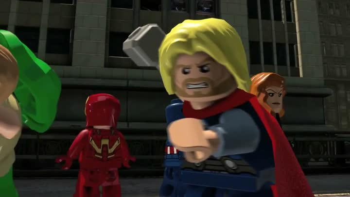 Solution jeux lego marvel avengers