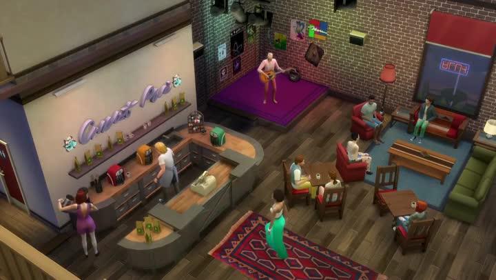 bande annonce les sims 4 la premi re extension s 39 offre un trailer de lancement. Black Bedroom Furniture Sets. Home Design Ideas