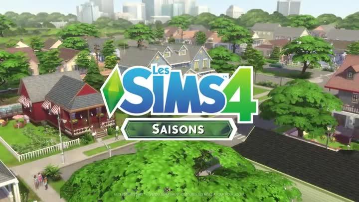 Bande annonce les sims 4 l 39 extension saisons arrive le 22 juin sur pc et mac for Maison prefabriquee sims 4
