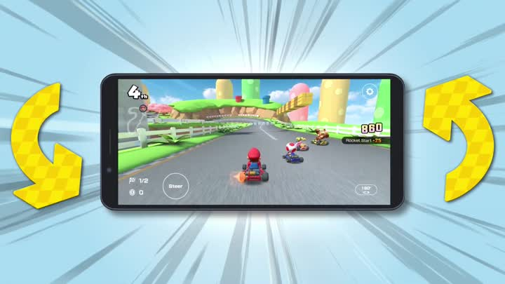 Mario Kart Tour Trailer: Landscape Mode Comes Tomorrow