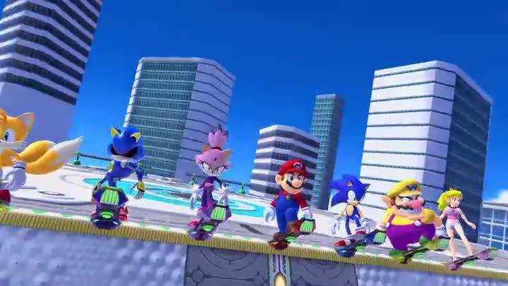 Bande Annonce Mario Sonic Aux Jeux Olympiques De Tokyo