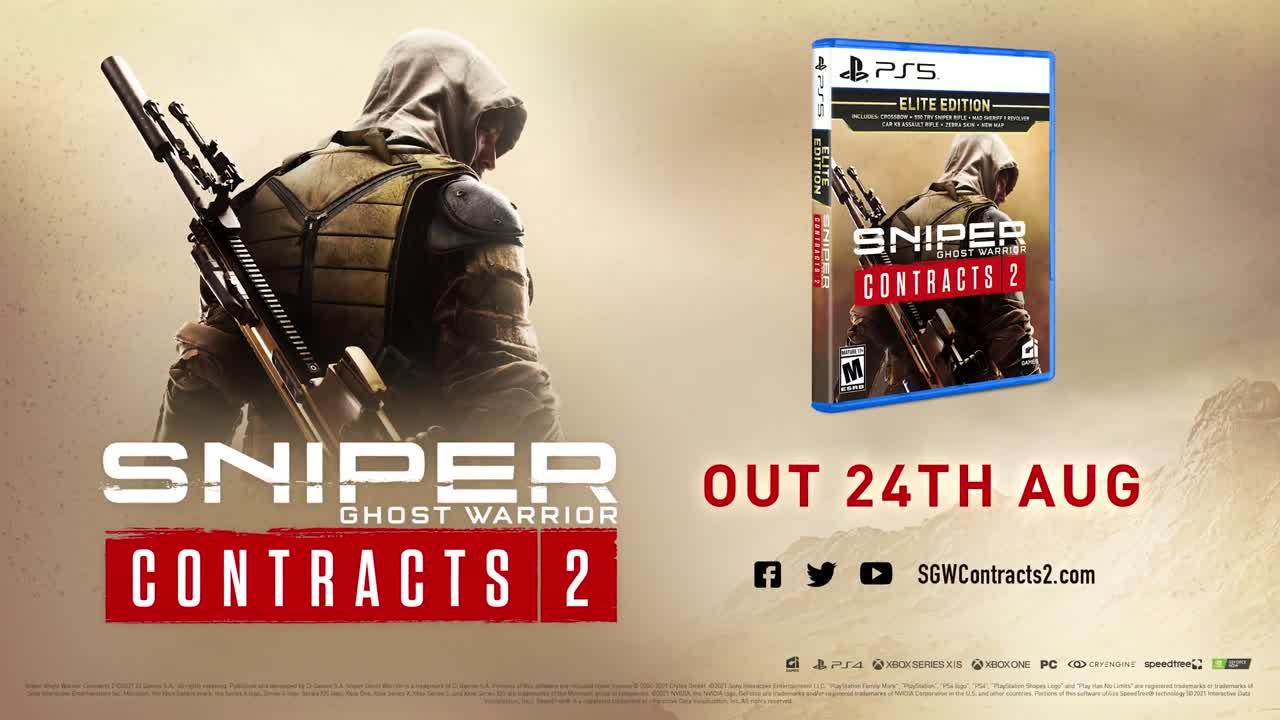 Sniper Ghost Warrior Contracts 2 : exécutez Le Boucher dans la nouvelle extension gratuite