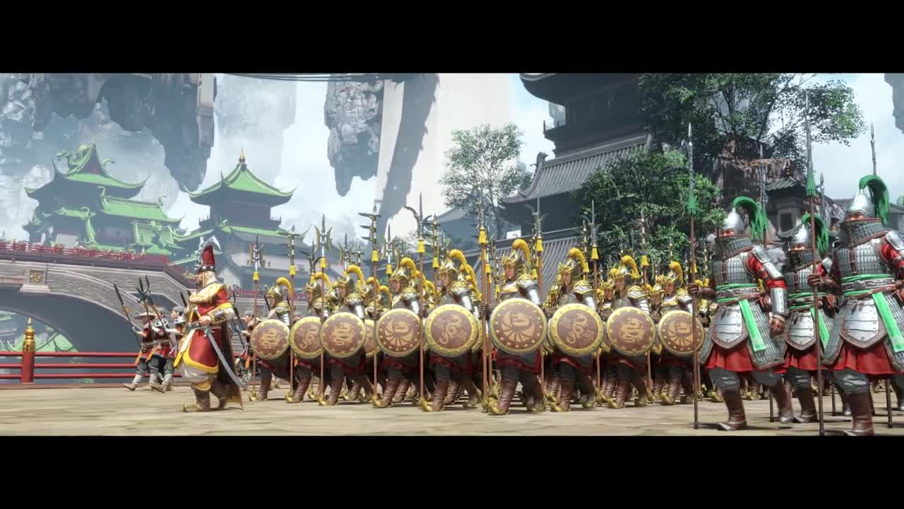 Total War : Warhammer III : La puissance du royaume du Grand Cathay