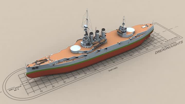 Bande annonce ultimate admiral dreadnoughts d voile son outil de conception de navire for Outil de conception salon