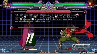 Test BlazBlue : Continuum Shift Extend PlayStation Vita - Screenshot 64