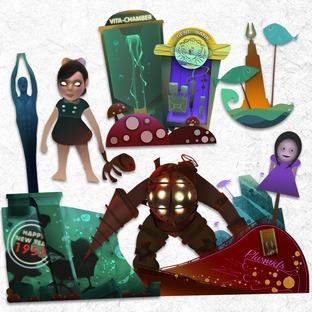 Un peu de Bioshock dans votre LittleBigPlanet
