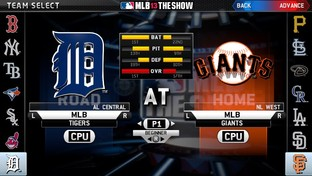 Test MLB 13 : The Show PlayStation Vita - Screenshot 3