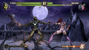 Test Mortal Kombat PlayStation Vita - Screenshot 3