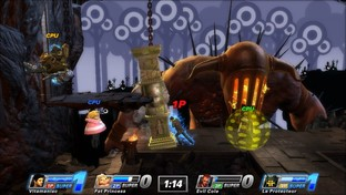 Test PlayStation All-Stars Battle Royale PlayStation Vita - Scree