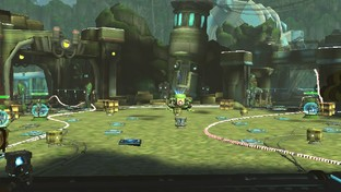 Test Ratchet & Clank : QForce PlayStation Vita - Screenshot 9