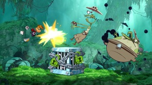 Test Rayman Origins PlayStation Vita - Screenshot 1