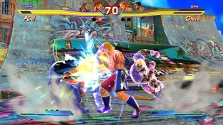 Pictures of Street Fighter X Tekken on Vita