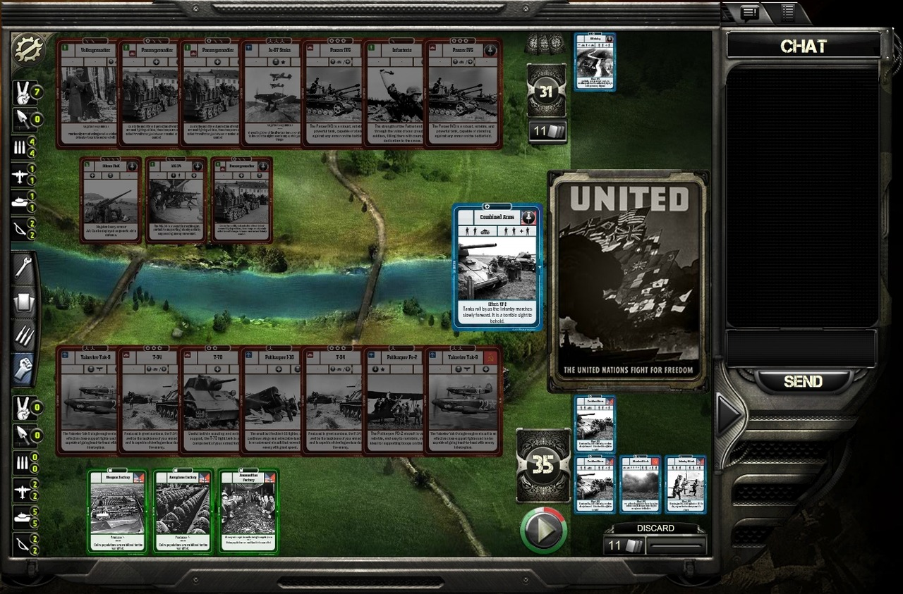 Images Hearts of Iron : The Card Game Web - 24