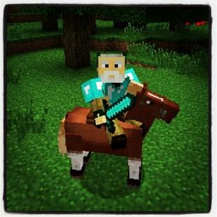Bientôt des chevaux dans Minecraft