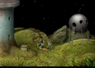 Test Samorost 2 Web - Screenshot 6