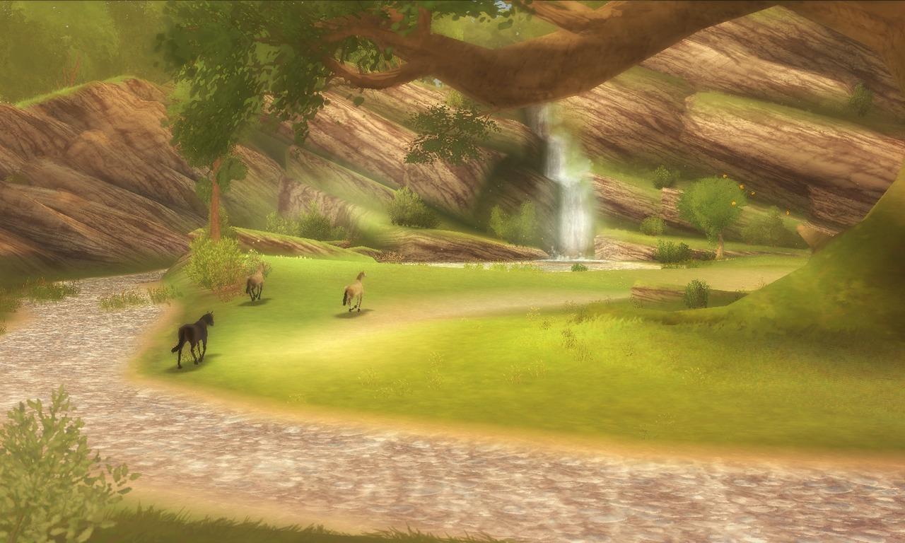 Images Alexandra Ledermann : La Colline aux Chevaux Sauvages Wii - 7