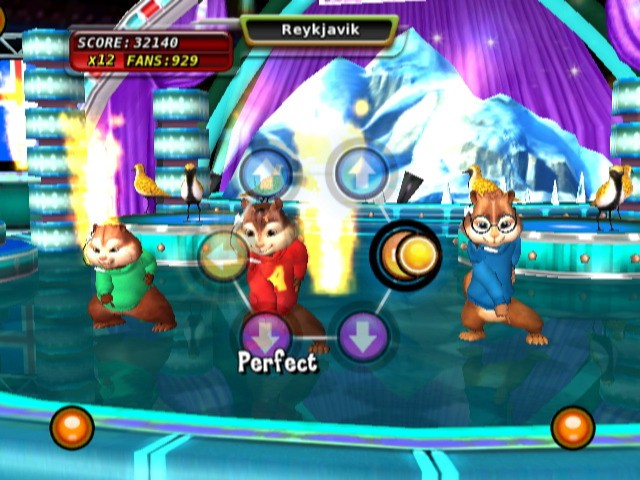 jeuxvideo.com Alvin and The Chipmunks : The Squeakquel - Wii Image 5