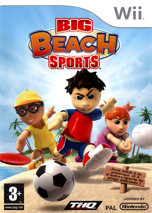 BIG BEACH SPORTS - PAL Wii [FS]
