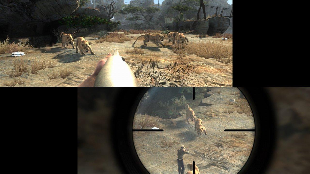 jeuxvideo.com Cabela's Dangerous Hunts 2013 - Wii Image 2 sur 8
