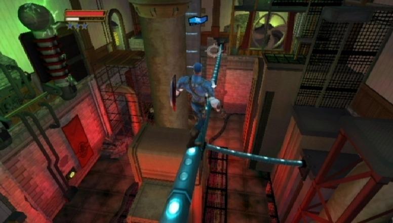 jeuxvideo.com Captain America : Super Soldat - Wii Image 19 sur 54