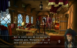 Test Captain Morgane et la Tortue d'Or Wii - Screenshot 12