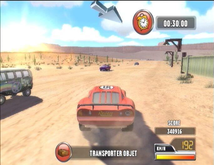 Cars Race O Rama Unlockables Wii
