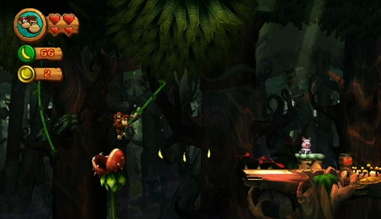 jeuxvideo.com Donkey Kong Country Returns - Wii Image 14 sur 323