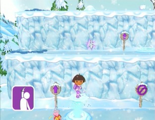 Test Dora Sauve la Princesse des Neiges Wii - Screenshot 5