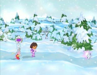 Dora Sauve la Princesse des Neiges Wii
