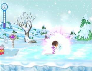 Test du jeu dora sauve la princesse des neiges sur wii - Dora princesse des neiges ...