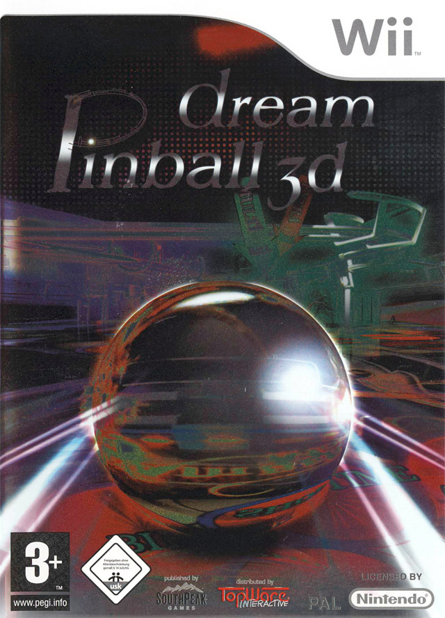dream pinball 3d Wii preview 0