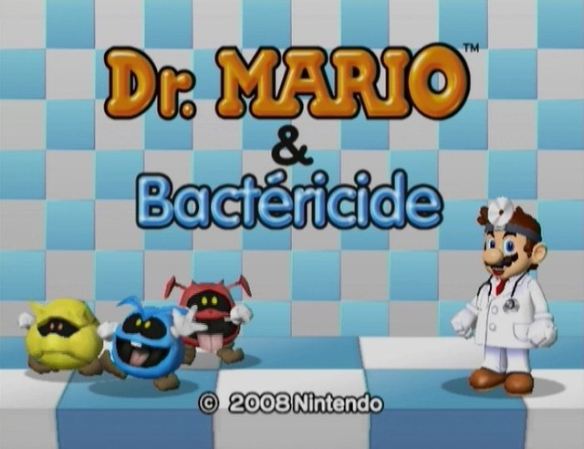 dr mario bactericide sur wii. Black Bedroom Furniture Sets. Home Design Ideas