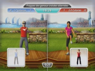 Test EA Sports Active : Personal Trainer Wii - Screenshot 2