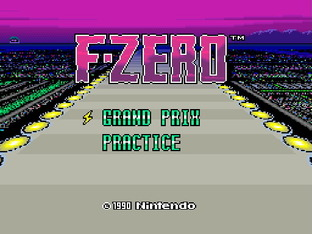 Test F-Zero Wii - Screen