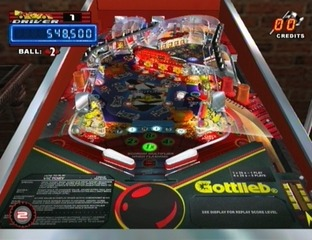 Test Gottlieb Pinball Classics Wii - Screenshot 7