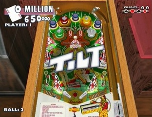Test Gottlieb Pinball Classics Wii - Screenshot 8