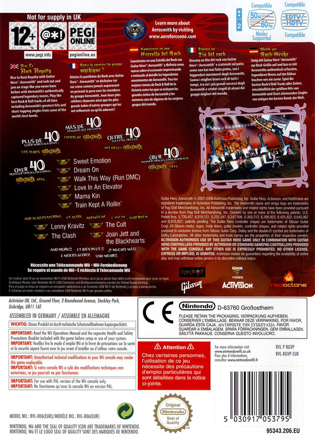 Images Guitar Hero : Aerosmith Wii - 2