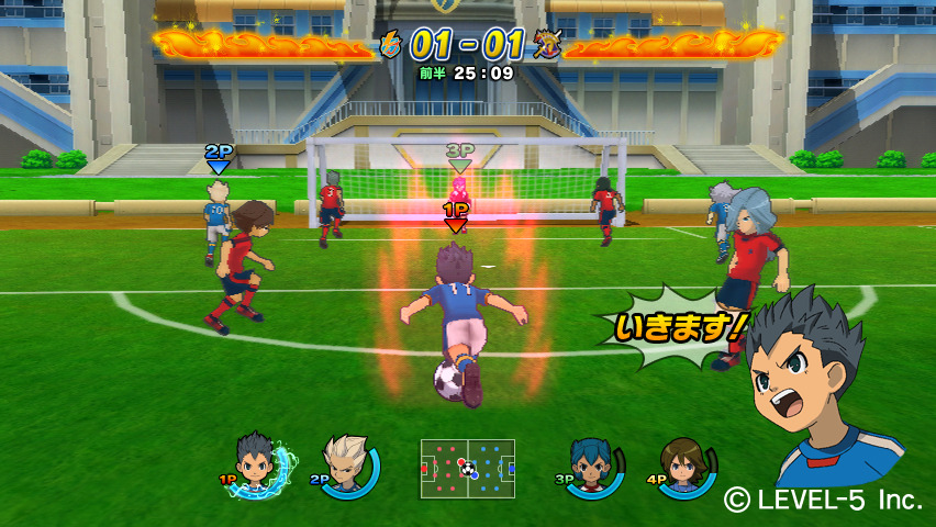 Screens Zimmer 2 angezeig: inazuma eleven games for pc