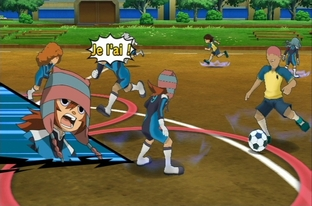 Test Inazuma Eleven Strikers Wii - Screenshot 47