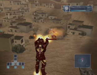 Test Iron Man Wii - Screenshot 3