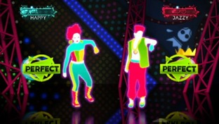 Test Just Dance 3 Wii - Screen