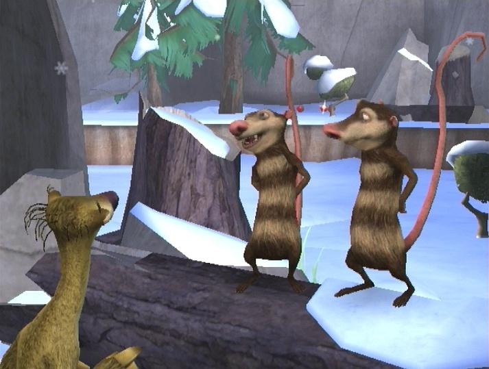 jeuxvideo.com L'Age de Glace 3 : Le Temps des Dinosaures - Wii Image 8