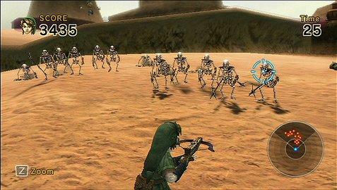 Link's crossbow training dans Jeux vidéos lcrtwi005