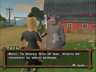 Test La Ferme En Folie Wii - Screenshot 13