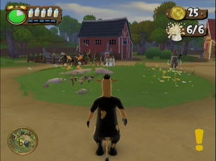 Test La Ferme En Folie Wii - Screenshot 18