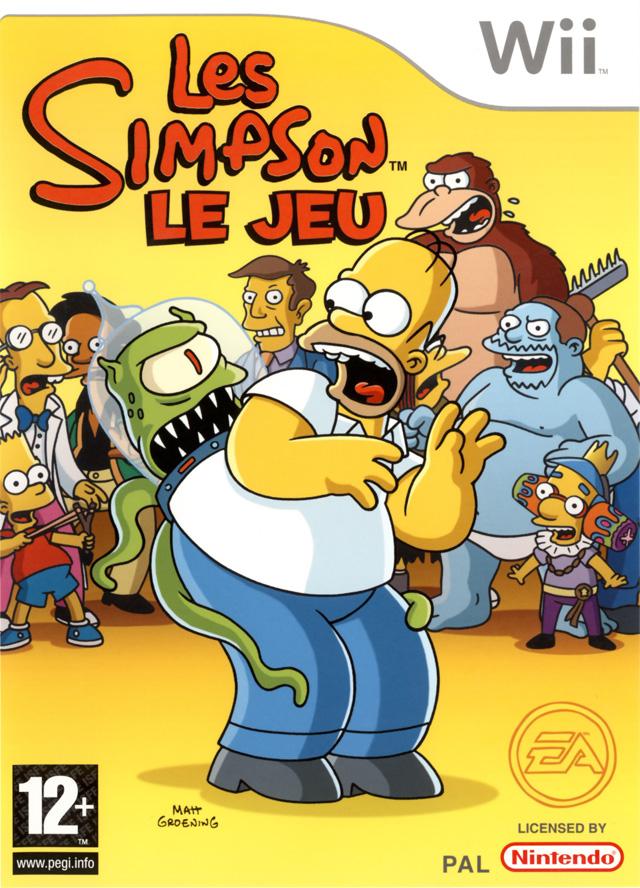 Les simpson le jeu sur wii - Jeux de lisa simpson ...