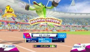 Test Mario & Sonic aux Jeux Olympiques de Londres 2012 Wii - Screenshot 148