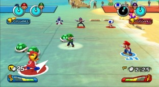 Test Mario Sports Mix Wii - Screenshot 54